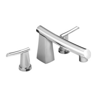 American Standard Green Tea Double Handle Deck Mount Tub Only Faucet
