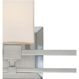 Dolan Designs Monroe Vanity Light in Satin Nickel