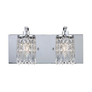 Elk Lighting Optix Two Light Bathroom Vanity in Polished Chrome