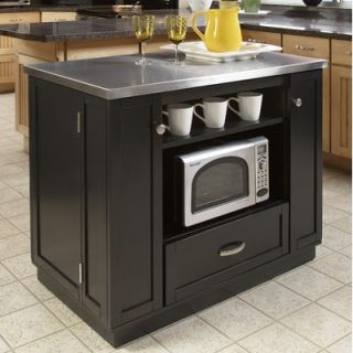 Home Styles Versitile Kitchen Island with Stainless Steel Top   88