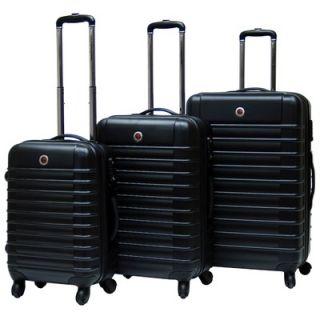 CalPak Cyprus Expandable Hardsided 3 Piece Luggage Set   LCY3000