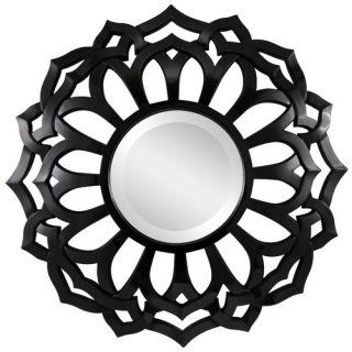 Covington Wall Mirror in Glossy Black