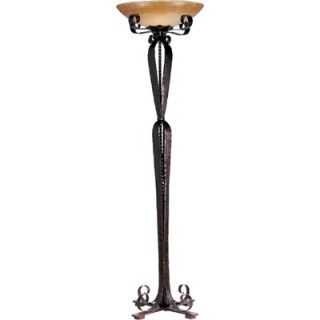 Maxim Lighting Aspen Torchiere Floor Lamp in Oil Rubbed Bronze
