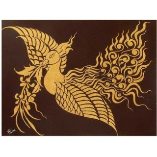 Novica Bird and the Beautiful Flower Wall Art