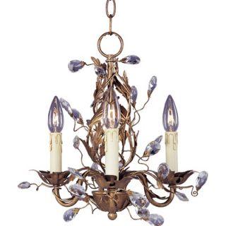 Maxim Lighting Elegante 3 Light Mini Candle Chandelier   2855EG