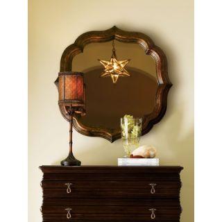 Tommy Bahama Home Royal Kahala Lotus Blossom Mirror in Distressed