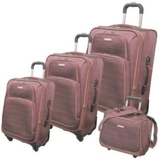 McBrine Luggage Vivanti Series 4 Piece Luggage Set