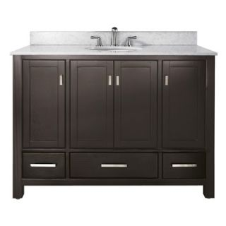 Avanity Modero Vanity and Mirror Set in Espresso   MODERO V