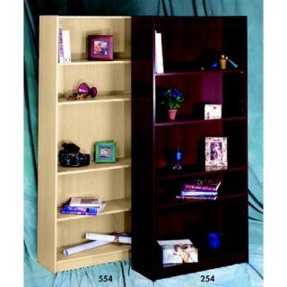 Nexera Wall Street Five Shelf Bookcase