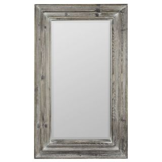Cooper Classics 60 x 27 Garner Mirror in Distressed Silver