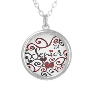 Senior Class of 2012 Whimsical Design Pendant