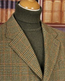 SUPERB VTG HARRY HALL IRISH THORNPROOF TWEED HACKING JACKET 44