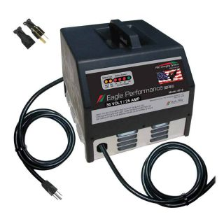 36V 25AH Dual Pro 1982 EZGO Golf Cart Battery Charger I3625CF607 New