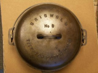 Griswold 9 Dutch Oven