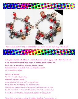 Big Time Rush Logan Henderson Charm Bracelet