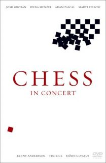 Chess in Concert Royal Albert Hall New DVD Josh Groban