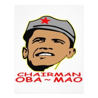 Obama Chairman Mao Oba Mao Flyer