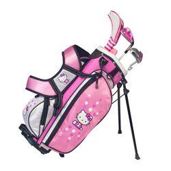 Hello Kitty Junior Golf Club Set Ages 3 5