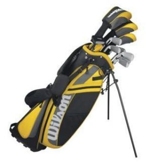 2012 Wilson Ultra Mens Golf Clubs Package Set with Bag Putter and