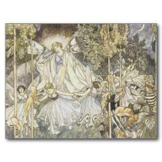Midsummer Nights Dream Fairy Fairies Postcards