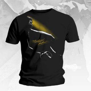 Michael Jackson Classic Glow T Shirt New