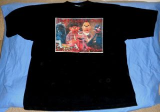 Ghetto Shirt Bert Ernie Grover Elmo Cookie Monster OSFA 4XL