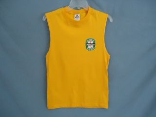 North Shore Hawaiian Heineken Label on Muscle Tank Shirt Surfer Mens s