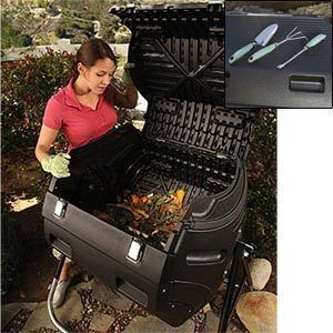 Composter Hand Tools Lawn Garden Dirt Plant Grow Home Soil Yard