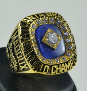 1995 Atlanta Braves Ring Greg Maddux World Series Championship