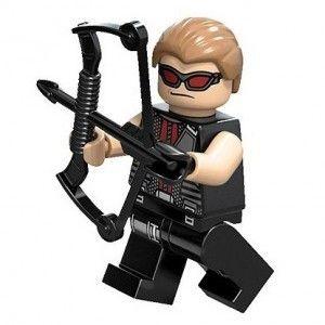 LEGO HAWKEYE minifigure Marvel Avenger Super Heroes NEW Complete