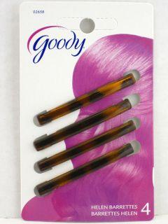 Goody Helen Tortoise Staytight Hair Barrettes
