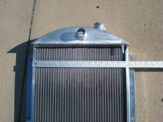 1937 Chevy Griffin Aluminum Radiator Street Rod