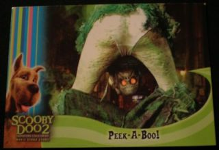 2004 Inkworks Scooby Doo 2 Box Loader Card BL 1