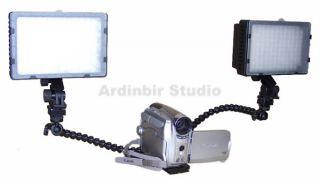 Twin LED Light Kit for Sony HDR HC9 HC5 HC3 HC7 HC1