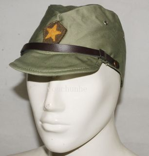 Army IJA Em NCO Field Cap Hat with Havelock Neck Flap L 32349