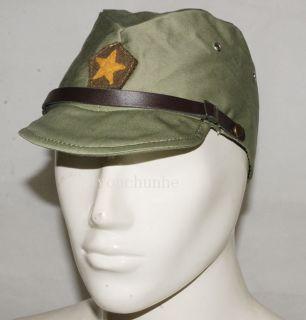 Army IJA Em NCO Field Cap Hat with Havelock Neck Flap L 32349