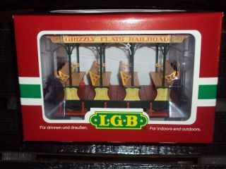 LGB Grizzly Flats Railroad Open Passenger Car 30430 G Scale