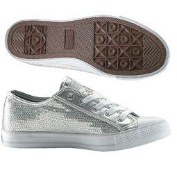 Gotta Flurt CA Disco Low Top Sequin Sneakers for Women