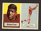 1957 Topps Football 85 Richard Night Train Lane Chicago Cardinals RC