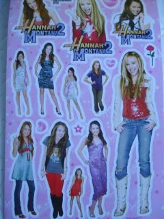 Hannah Montana Party Favors x12 Books Sticker Treats NW