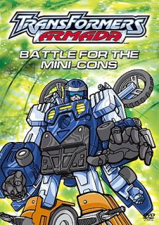 Transformers Armada   Battle for the Mini Cons DVD, 2004
