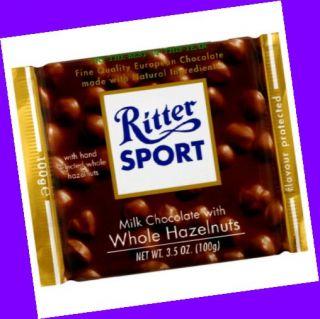 Germany Ritter Sport Milk Chocolate Whole Hazelnuts 3 5