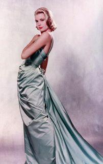 Grace Kelly Teal Green Oscars Dress Academy Awards Funko Bobblehead