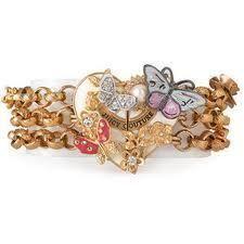 Juicy Couture Butterfly Heart Bracelet