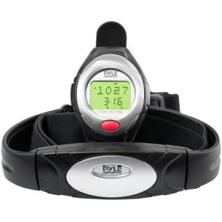 Pyle PHRM40 One Button Heart Rate Monitor Watch with 3D Running