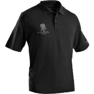 Under Armour Black NEW Heat Gear Polo WWP Wounded Warrior Project Very