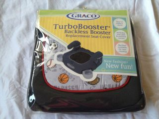 Graco Child Sports Turbobooster Backless Booster Replacement Seat