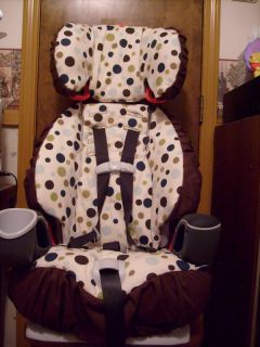 Komfy Kid Booster Seat Cover Set for Graco Nautilus