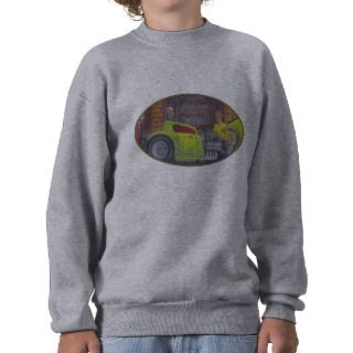 32 Ford three window coupe hot rod. Pull Over Sweatshirts