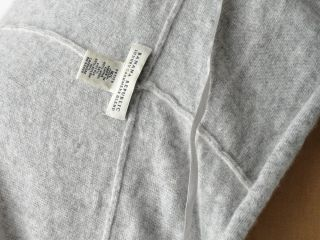 Banana Republic Heather Gray Cashmere Luxury Blend Draped Cardigan